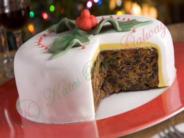Irish Christmas Cake Recipe | Galway Cookery Classes