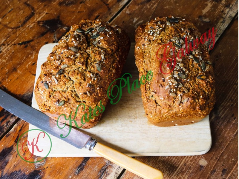 Multiseed Bread Loaf | Galway Cookery Classes