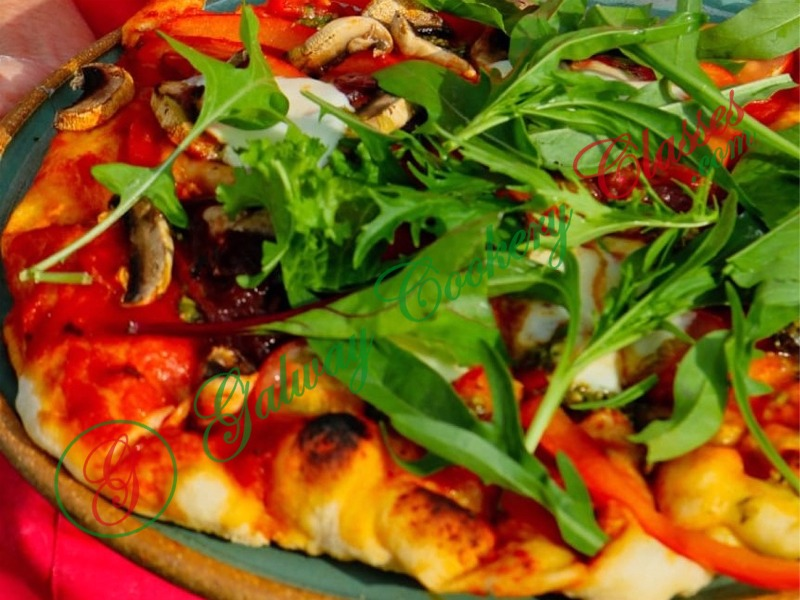 Galway Cookery Classes - Vegetarian Pizza